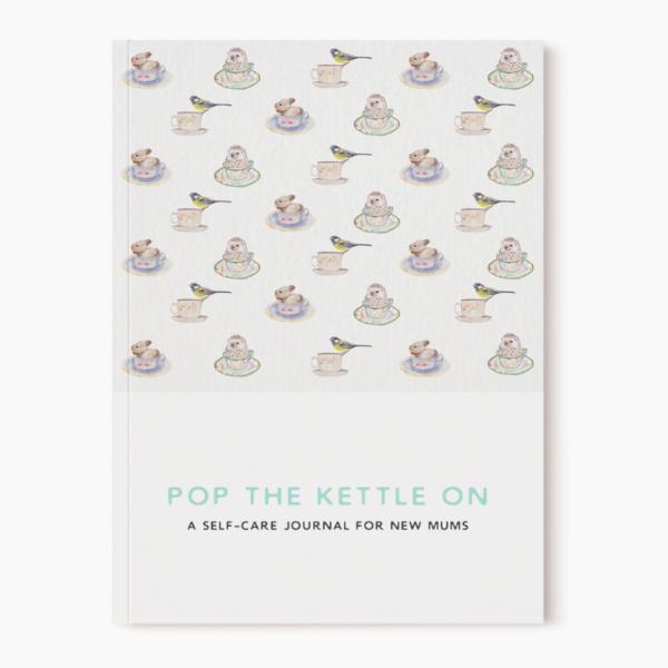 Pop the kettle on new mum journal