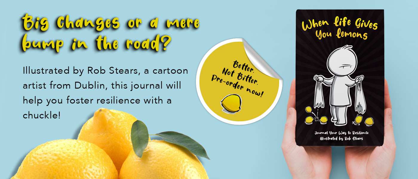Image of when life gives you lemons journal by Rob Stears