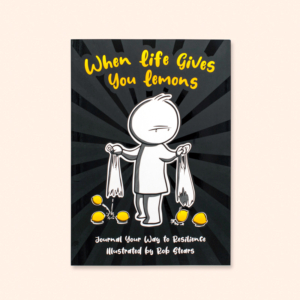 illustrated fun journal when life give syou lemons